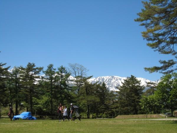グリーンスポーツの森からの景色