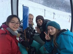 スキー場へGO