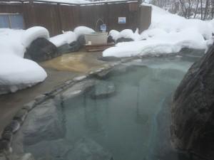 雪見温泉♪