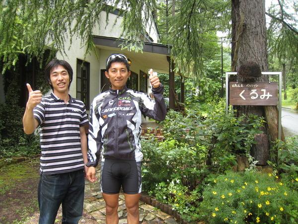 山本和弘選手と♪