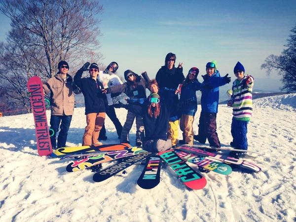 2013.3.17「白五竜スキー場」