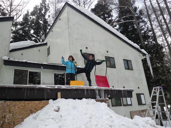 雪かきシーズンですね~♪
