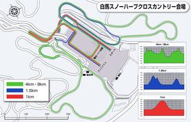 スノーハープ「コースマップ」