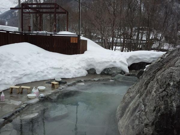 雪見露天風呂♪