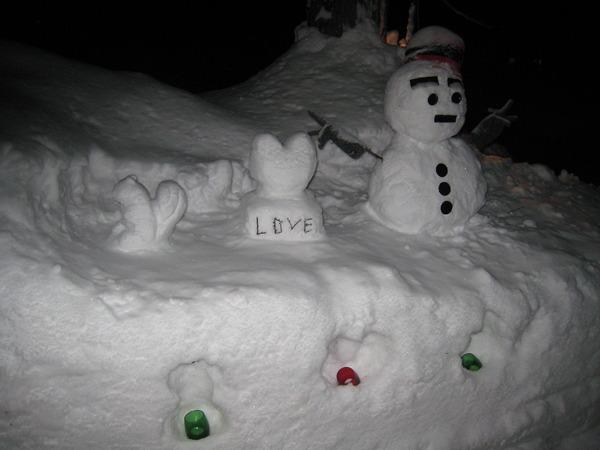 雪像リニューアル!