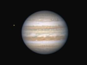「木星」の縞模様もくっきりと♪