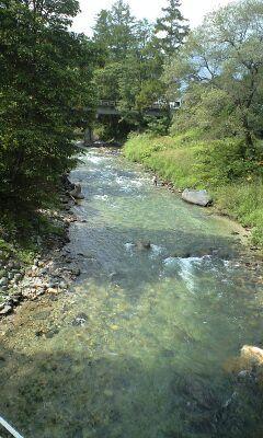 きれいな渓流でフィッシング!