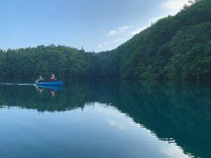静寂の湖「青木湖」